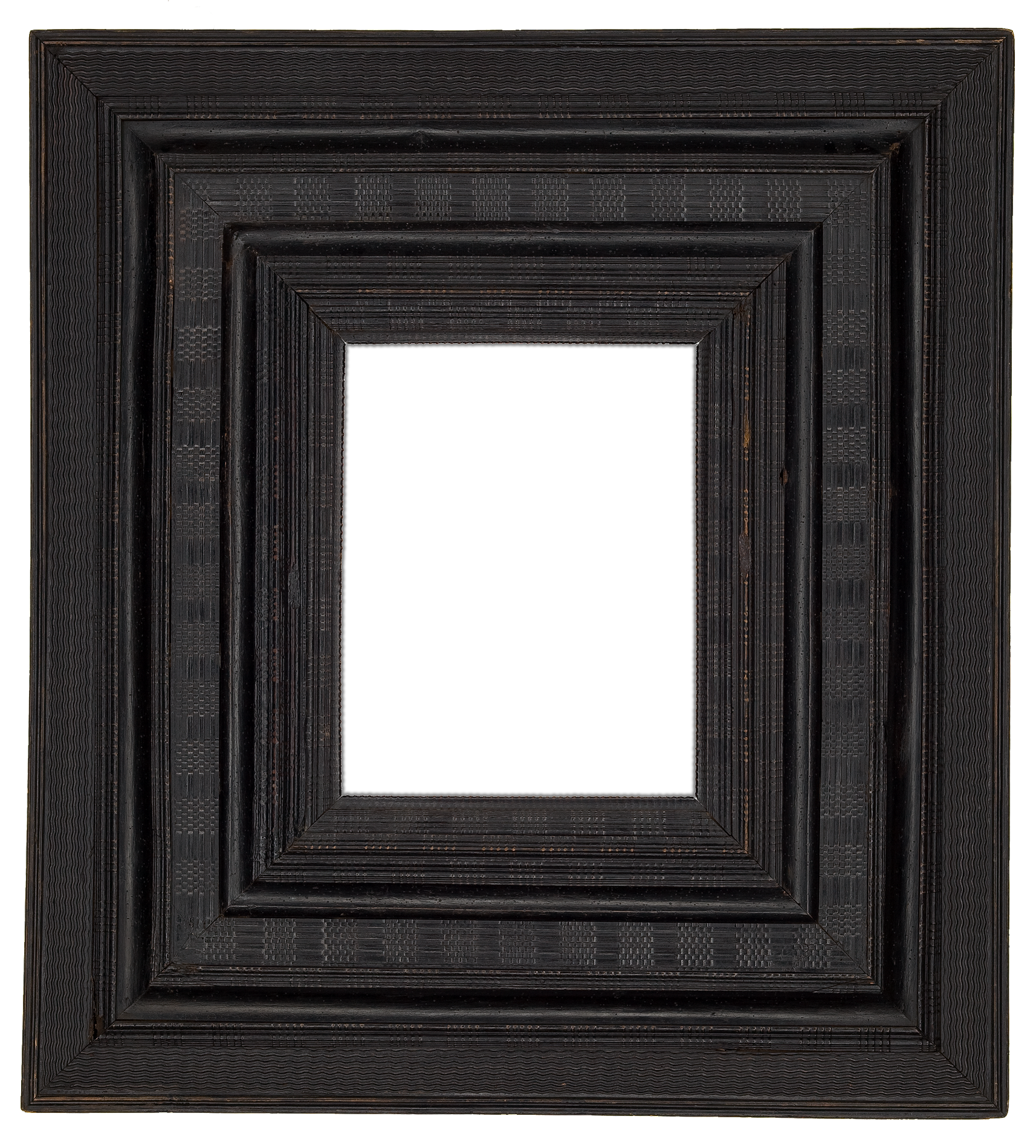 Featured frame of the week 17th century dutch black ripple receding frame jeuxipadfo Image collections