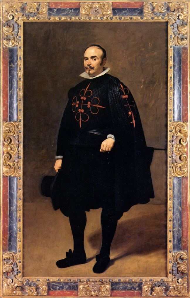 Diego Velázquez, Portrait of Don Pedro de Barberana (image courtesy of Frameworks by Paul Mitchell and Lynn Roberts)