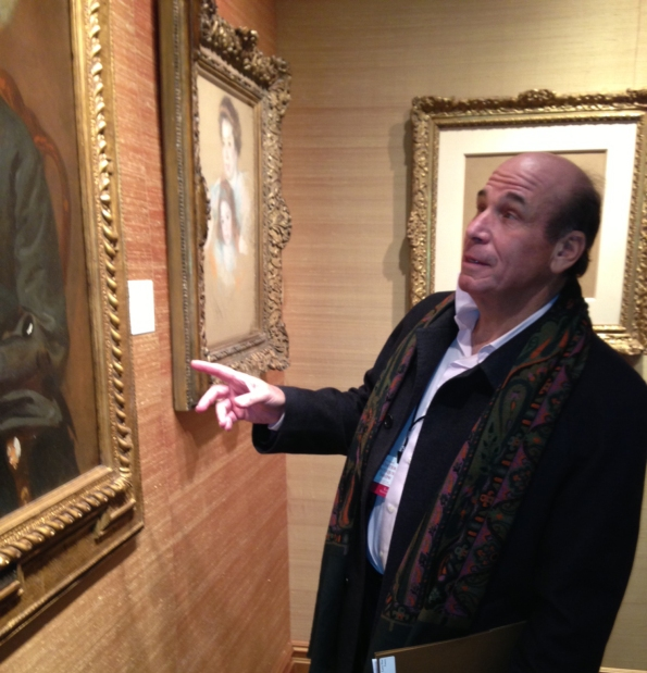 Larry Shar considers the impact of a gilded frame on the painting it is surrounding.