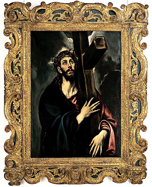 El Greco, Christ Carrying the Cross (image courtesy of metmuseum.org)