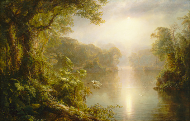 Frederic Edwin Church, The River of Light (image courtesy of the National Gallery of Art)