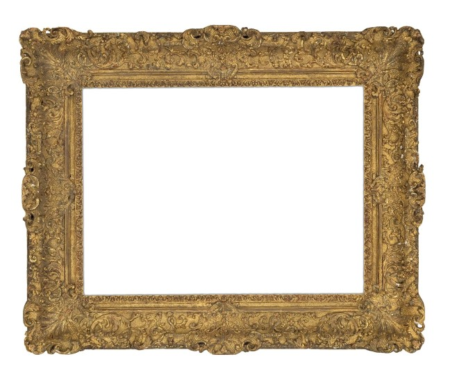 18th-century carved and gilt Louis XIV frame (5760)