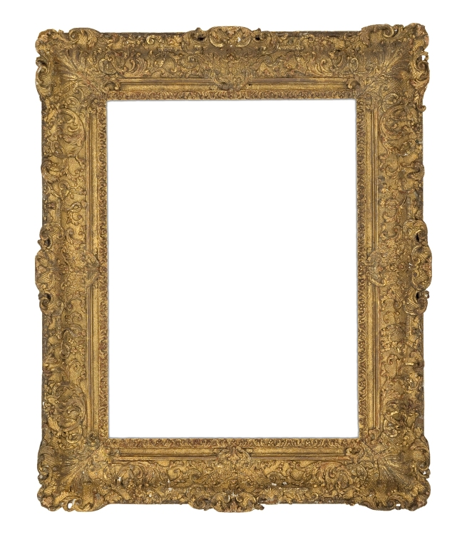 Rare 18th-century carved and gilt Louis XIV frame (5760)