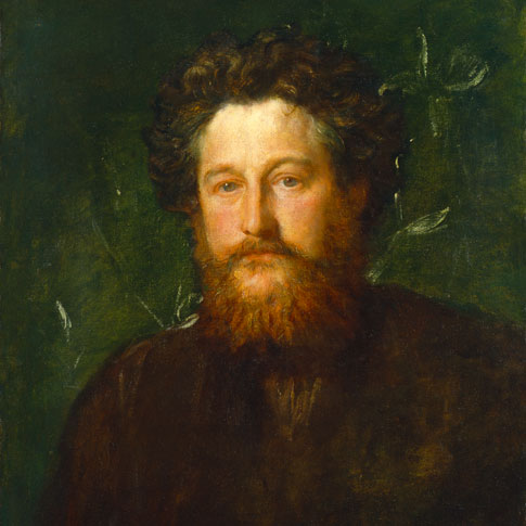 G.F. Watts, William Morris (1834-96), 1870 (image courtesy of Watts Gallery)