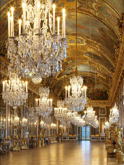 The Hall of Mirrors at Versailles (via chateauversailles.fr)