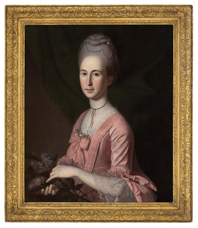 Charles Willson Peale, Elizabeth McClure, 1774-75, oil on canvas (Courtesy of the Milwaukee Art Museum)