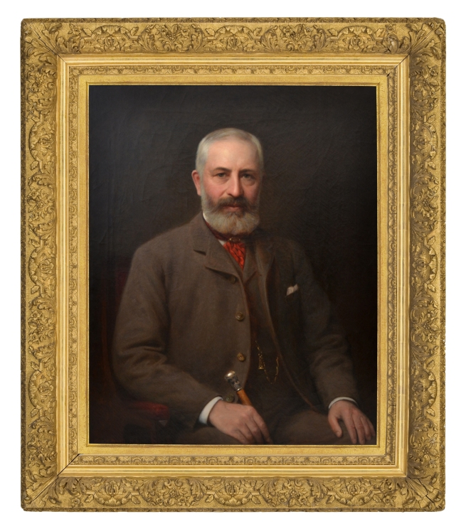 George Yewell, Portrait of Frederick Layton (Courtesy of the Milwaukee Art Museum)