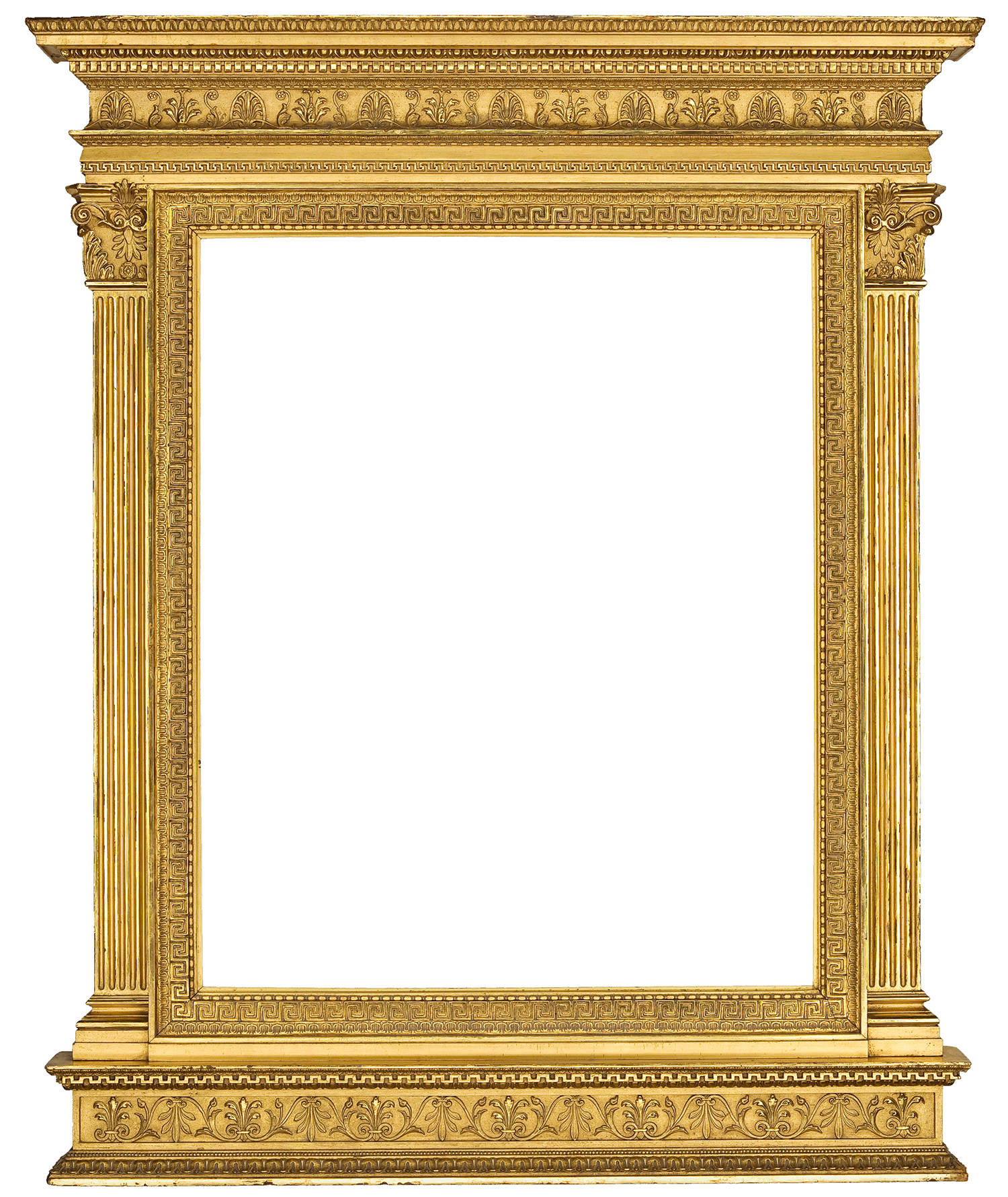 Wooden Frame Design : Gilt composition tabernacle frame designed by Stanford White, circa ...